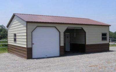 Deluxe Metal Garage