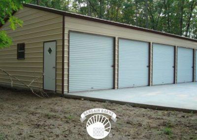 side entry five door custom garage