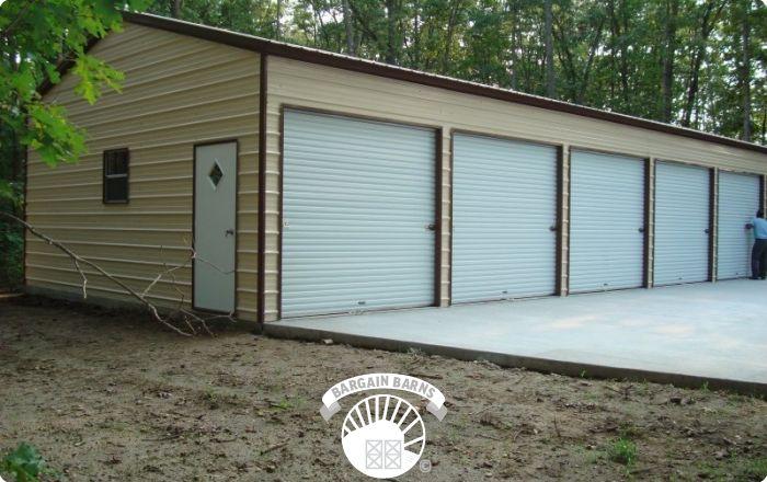Side Entry Garages | Bargain Barns USA
