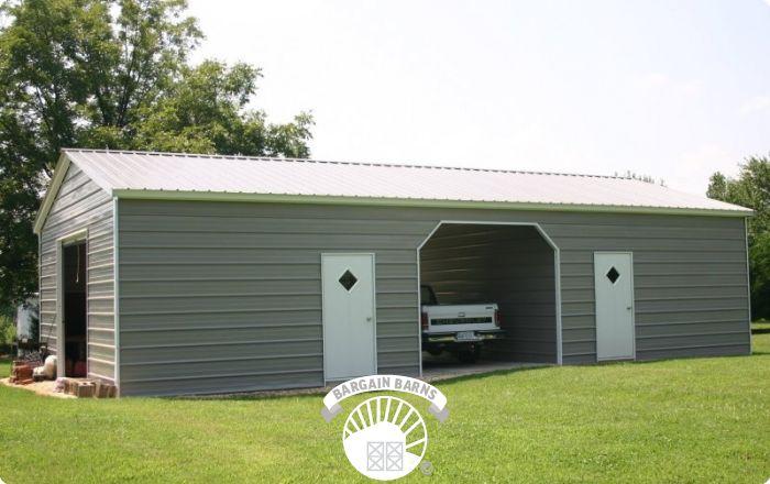 side entry custom garage