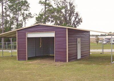 Seneca Shed metal barn
