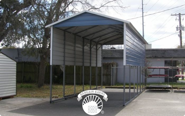 Motorhome Cover And Carport Rv Storage Bargain Barns Usa