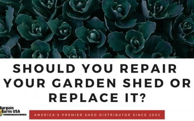 Should You Repair Your Garden Shed or Replace It?