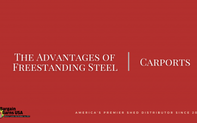 The Advantages of Freestanding Steel Carports