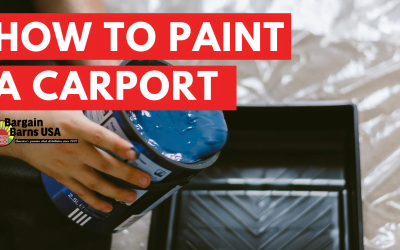 How to Paint a Carport